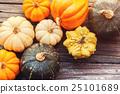 pumpkin, variety, many 25101689