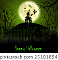 Halloween spooky background 25101894