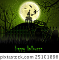 Halloween spooky background 25101896