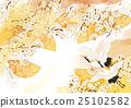 พลัมฟอยล์สีทองปั้นจั่นสีขาว 25102582