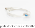 VGA cables connector with white cord 25102907