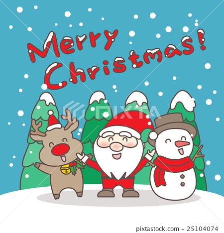 Merry christmas day - Stock Illustration [25104074] - PIXTA