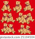 귀여운 곰 그림 25104504