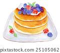烙餅 煎餅 水彩畫 25105062