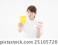 女性 黃牌 牙科衛生學家 25105726