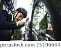 商人自行車通勤 25106644
