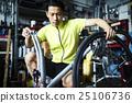 男人 腳踏車 自行車 25106736