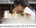 女孩 品嚐 吃 25107444