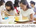 女孩 品嚐 吃 25107485