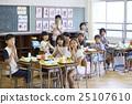 肖像 感恩 學校午餐 25107610