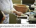 女性 廚房刀 手心 25109065