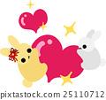 兔子 兔 動物 25110712