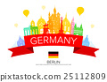 Germany, Berlin travel landmark. 25112809
