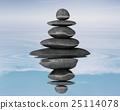 Zen stones balance concept 25114078