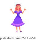 公主 可愛 向量 25115658