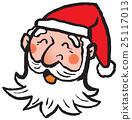クリスマス サンタクロース 25117013