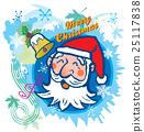 クリスマス サンタクロース 25117838