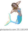美人魚 動作 姿勢 25118149