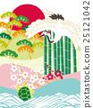 鶴 烏龜 日式 25121042