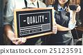 barista, blackboard, holding 25123591