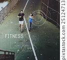 Health Fitness Healthcare Tracking Technology Concept 25124713