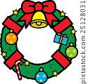 christmas wreath, christmas, xmas 25128031