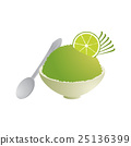 Lemon ice in cup 25136399