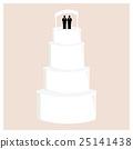 Male wedding cake 25141438