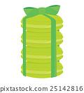 Green Macaroon Stack 25142816