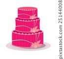 Pink fancy cake 25144008