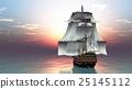 水手 帆船 海 25145112