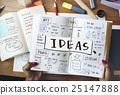 design, handwriting, ideas 25147888