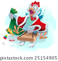 christmas, xmas, rooster 25154905