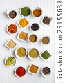 various, spice, herb 25155631