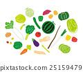 蔬菜 矢量 一套 25159479