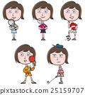 运动 女性 女 25159707