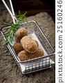 Special fried Jamon Iberico Croquette in 25160246