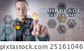 Investigator Activating WORKPLACE SURVEILLANCE 25161046