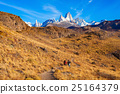 Fitz Roy mountain, Patagonia 25164379