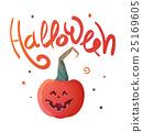halloween pumpkin vector 25169605