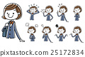女子学生:セット 25172834