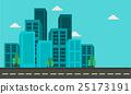 Illustration of city building landscape 25173191