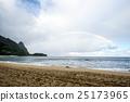 考艾島 海 海灘 25173965