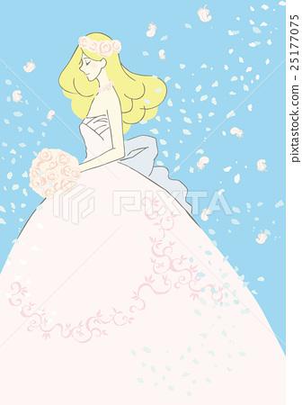 新娘 婚禮 結婚禮服 25177075