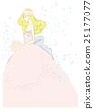 新娘 矢量 花淋浴 25177077