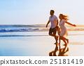 family, beach, baby 25181419