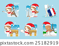 woman go travel in christmas 25182919