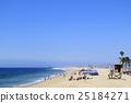 sea bathing, blue sky, newport beach 25184271