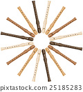 Recorder Round Circle Sun Pattern 25185283