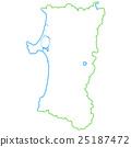 Akita Prefecture Map 25187472